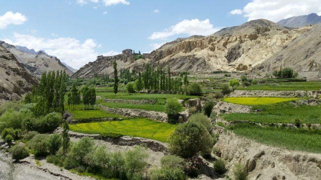Ladakh Lamayuru kozelében