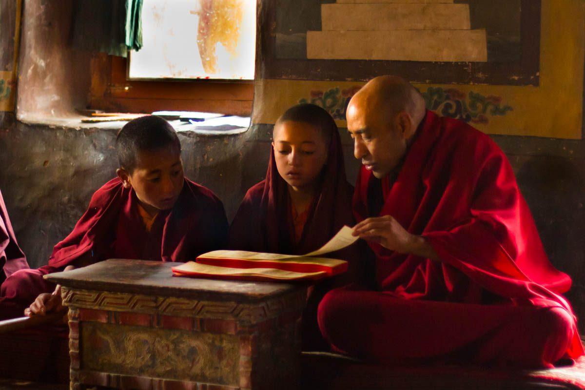 Buddhista életképek