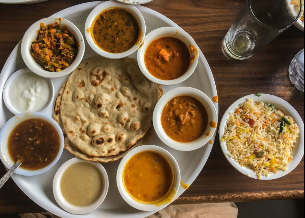 India utazás indiai ételek