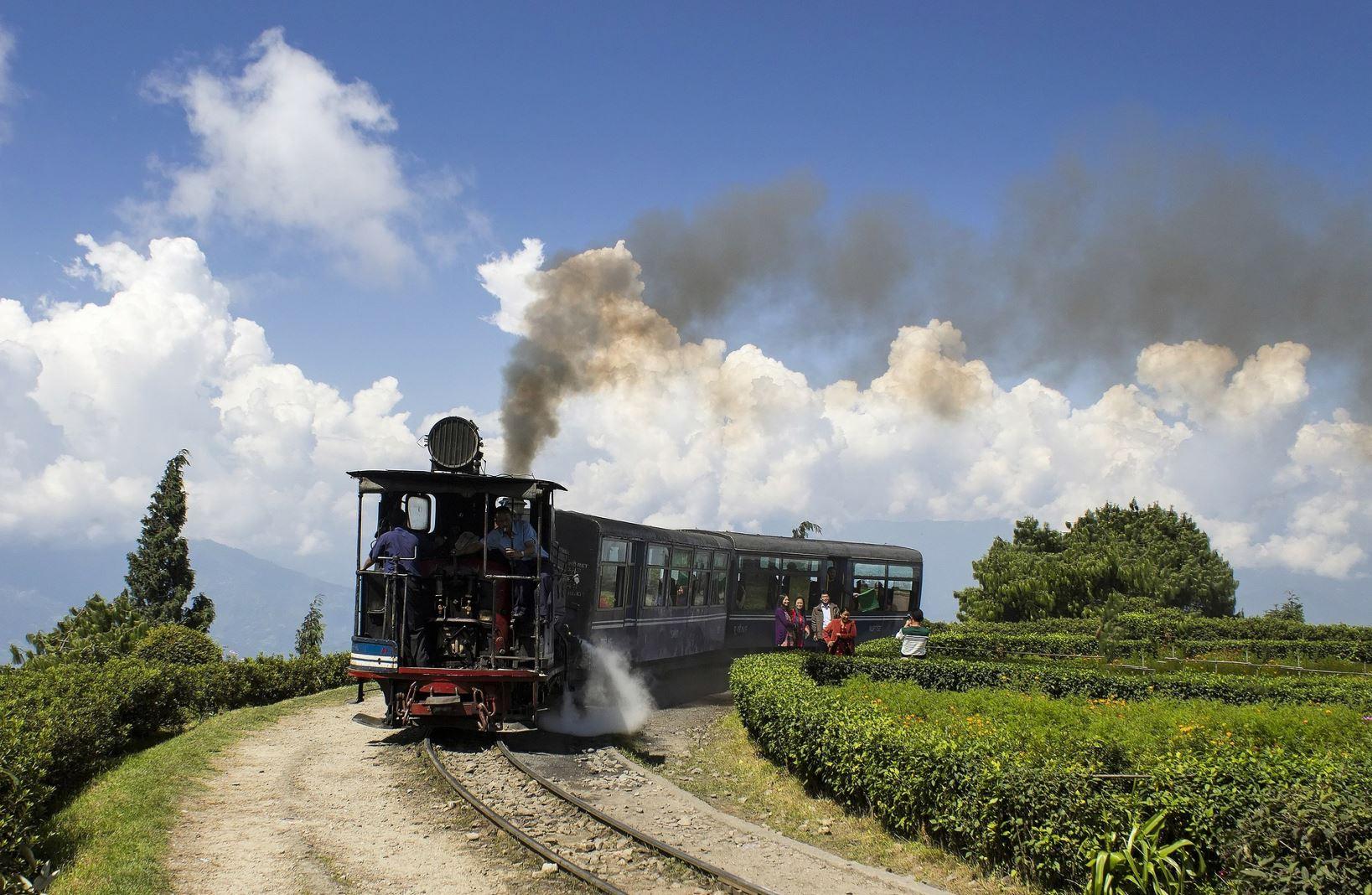 A Dardzsiling vasút az UNESCO világörökség listáján szerepel
