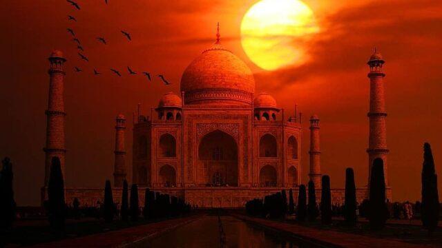 Agra Taj Mahal
