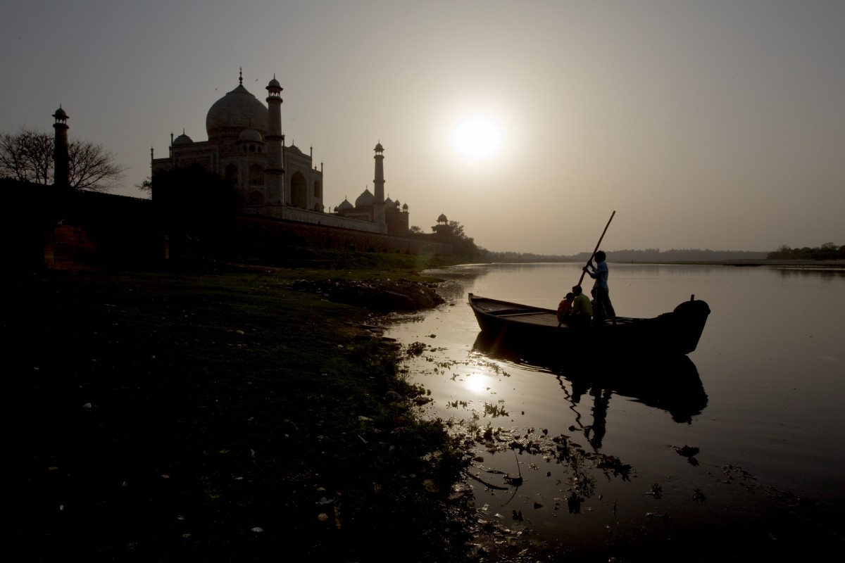 Agra Tadzs Mahal