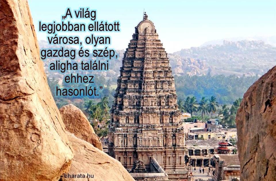 Hampi Vijaynagar templomvárosa